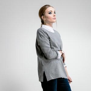 Pullover MOND grau - JAN N JUNE