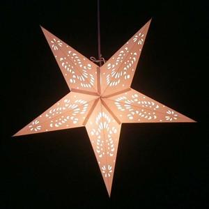 Weihnachtsstern aus Papier - inkl. Beleuchtungsset -Jameela - weiß - MoreThanHip