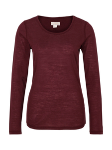 Basicshirt mit R-Neck-Wine - Madness