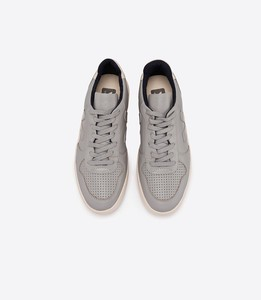 V10 Leather Oxford Grey - Veja