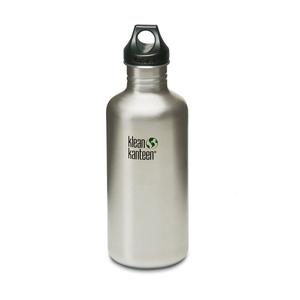 Edelstahl Trinkflasche mit Loop Verschluss, 1182 ml - Klean Kanteen