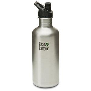 Edelstahl Trinkflasche mit Sport Verschluss, 1182 ml - Klean Kanteen