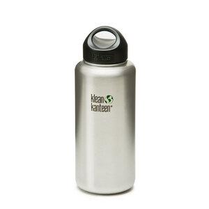 Edelstahl Trinkflasche WIDE mit Loop Verschluss, 1182 ml - Klean Kanteen