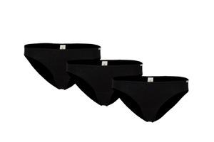 Dreierpack Jazz Pants Unterhose schwarz - comazo earth