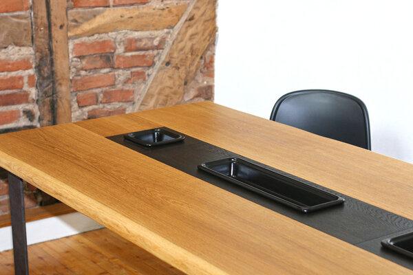 Tischplatte massivholz  Esstisch Pflanztisch Eiche Vollholz 200x100 cm Tischplatte ...