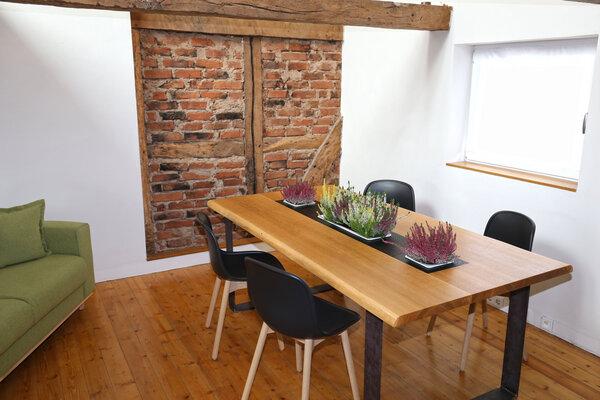 Tischplatte massivholz günstig  Pflanztisch 250x100 cm Eiche Vollholz Esstisch Tischplatte ...