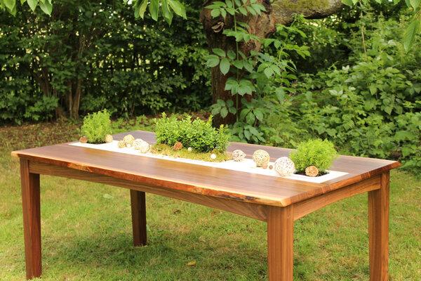 Greenhaus abverkauf pflanztisch 185x90 cm nuss for Designer esstisch abverkauf