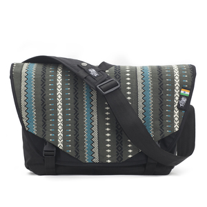 ETHNOTEK ACAAT MESSENGER BAG VIVA CON AGUA GREY - Ethnotek