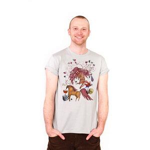 Witch in a Wonderland - Männer-T-Shirt aus Bio-Baumwolle - Coromandel