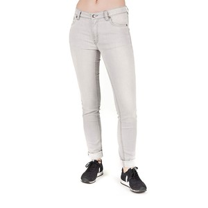 Slim Jeans Damen Grau - bleed