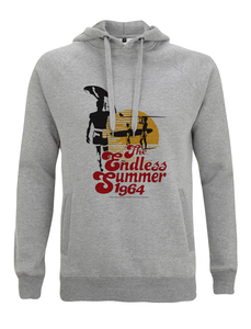 The Endless Summer, Perfekt Sunset Grafik Hoodie Kapuzenpullover  - California Black Plate