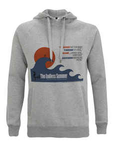 The Endless Summer, Big Wave Grafik, Hoodies, Kapuzenpullover, S - XXL - California Black Plate