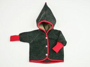 Babyjacke mit Zipfelkapuze - Ulalü