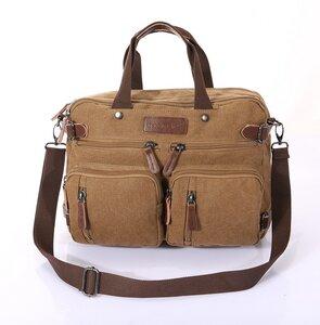 Messenger Bag Khaki - shoemates