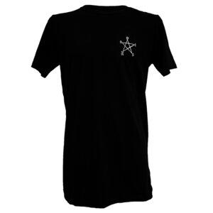 Men Longshirt 'Pentagramm' - DISKO