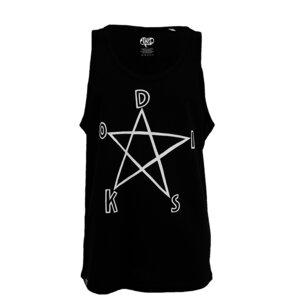 Men TankTop 'Pentagramm' - DISKO