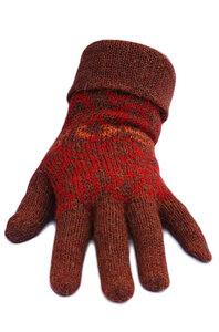 Finger Handschuhe CHIMU Baby Alpaka - Apu Kuntur