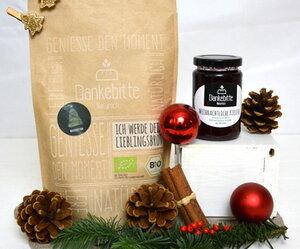 GeSCHENKset Weihnachten - Brot und Marmelade - Dankebitte