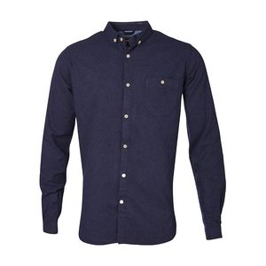 Melange Effect Flannel Shirt -GOTS  - KnowledgeCotton Apparel