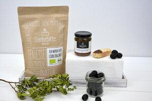 GeSCHENKset Würzig - Brot und Tapenade - Dankebitte