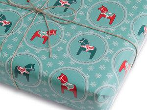 Geschenkpapier DALA | recycling - Ökotussi