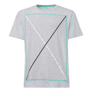 ThokkThokk Frame T-Shirt grey melange spotted - THOKKTHOKK