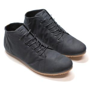 '66 No2 veganer Sneaker aus Bio-Baumwolle Schwarz / Grau - SORBAS