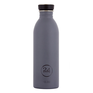 0,5l Trinkflasche Formal Grey - 24bottles