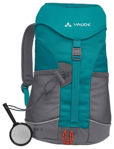 Kinderrucksack Vaude Puck 10 in green spinel - VAUDE