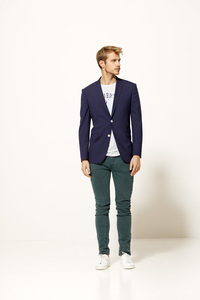 Baby Face Jack - Constructed Blazer - KnowledgeCotton Apparel