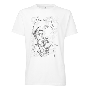 100for10 David Leitner T-Shirt white - THOKKTHOKK