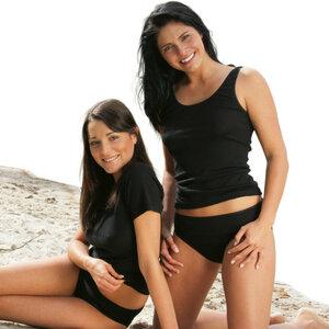 Engel 2er Pack Bio Baumwolle Bikini Slip - Engel natur
