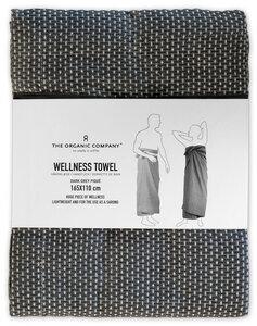 Wellness Towel - Dark Grey - The Organic Company