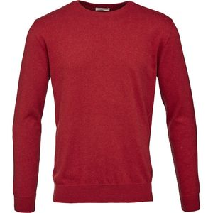 Basic O-Neck Cashmere/Cotton - GOTS - High Risk Red - KnowledgeCotton Apparel