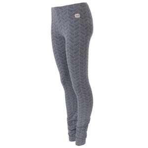schicke Yoga Leggings in grau/melange - People Wear Organic