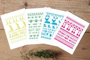 Postkarten-Set Grüße aus der Gartenlaube  - Parzelle43