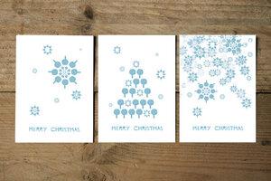 Postkarten-Set Christmas - Parzelle43
