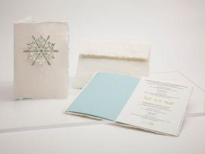 Briefkarte Schneeflocke - Just Be