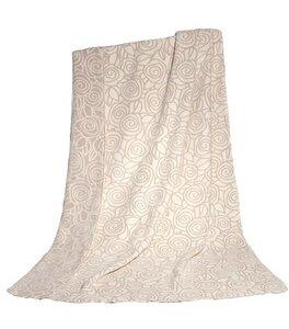 Wohn- und Kinder Decke Rosen quarz Bio Baumwolle - Richter Textilien