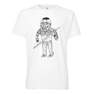 T-Shirt Weiß Bio & Fair // TT02 Herren // 100for10 Monoperro - THOKKTHOKK