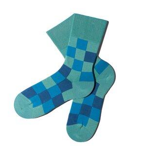 Pixelate Socken - Scuba - MINGA BERLIN