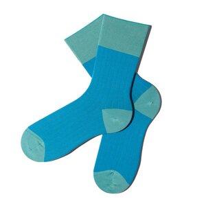Sliced Socken - Ultramarine Green - MINGA BERLIN