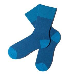 Sliced Socken - True Blue - MINGA BERLIN
