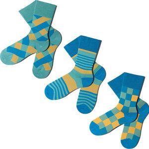 3 Paar Socken - Beachy Greens Geschenkbox  - MINGA BERLIN