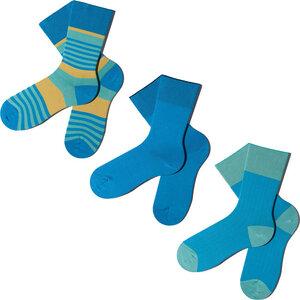 3 Paar Socken - Green Blue Geschenkbox - MINGA BERLIN
