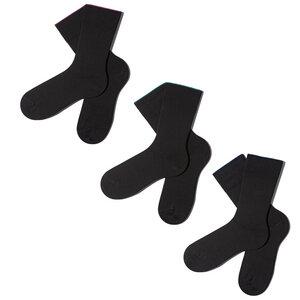 3 Paar Schwarze Socken inkl. Geschenkbox - MINGA BERLIN
