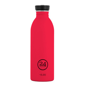 0,5l Trinkflasche Hot Red - 24bottles