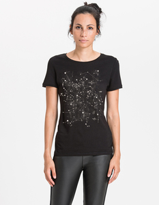 Denise T-Shirt/ 0002 Bambus & Bio-Baumwolle/ STARS - Re-Bello