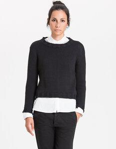 Lucy Knit / 0002 Bio-Merino Wool / Minimal - Re-Bello