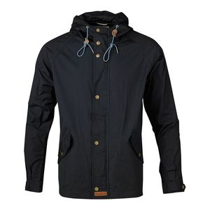 Waxed Canvas Light Jacket - Total Eclipse - KnowledgeCotton Apparel
